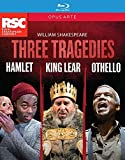 Three Tragedies: Hamlet - King Lear - Othello - William Shakespeare [Blu-ray]