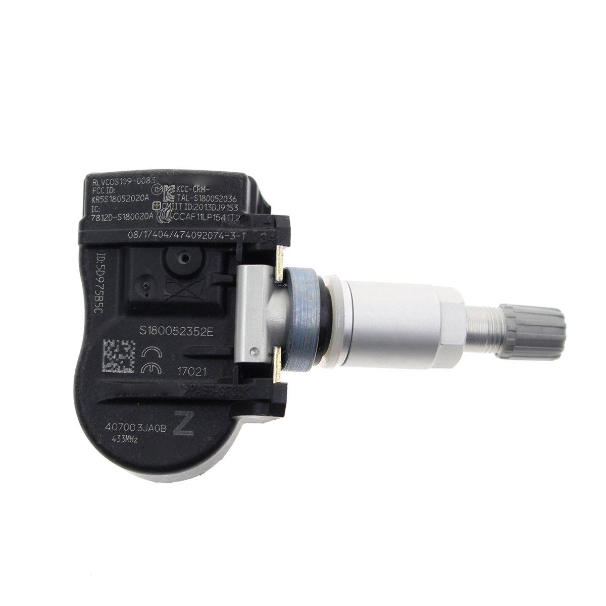 AUTOKAY Set of 4 TPMS Tire Pressure Sensor for Nissan Altima Pathfind Murano Maxima