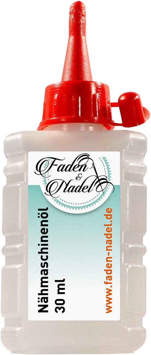 Faden & Nadel® - Aceite para máquina de Coser (30 ml): Amazon.es ...