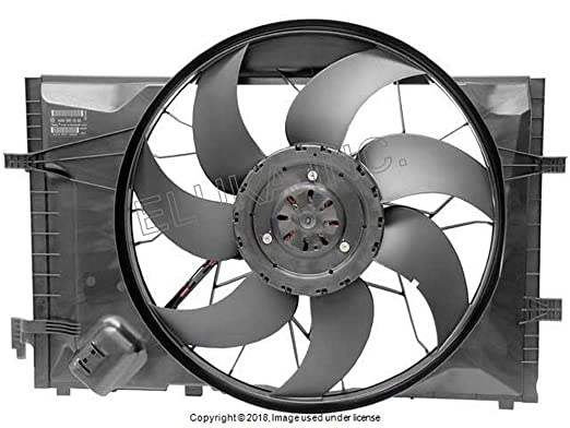 Amazon Com Mercedes Benz Auxiliary Fan Assembly Includes Shroud