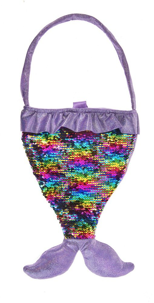Ganz Baby Toddler Girl Mermaid Sequin Purse 14 inches (Purple)