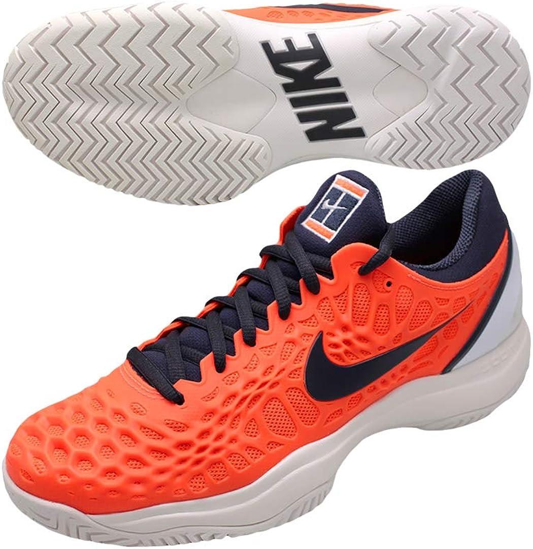 Nike Air Zoom Cage 3 HC, Zapatillas para Hombre, Multicolor (Hyper Crimson/Gridiron/White/Phantom 001), 41 EU: Amazon.es: Zapatos y complementos