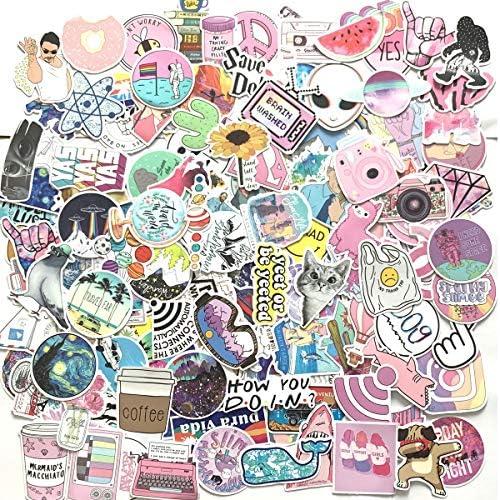 HORIECHALY Cute Vinyl Stickers ,Laptop Sticker . 25pcs