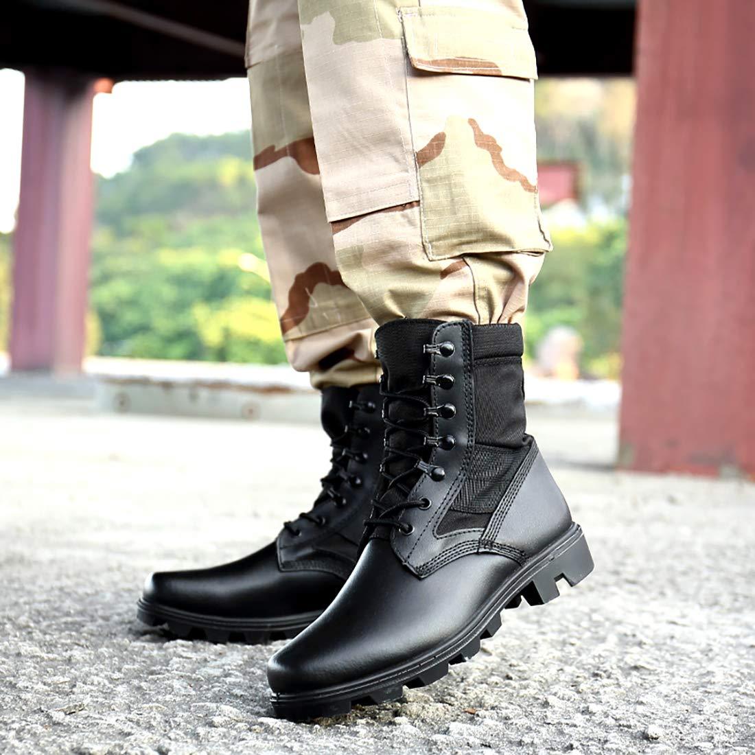 Mode Einsatzstiefel Leader Stiefel Bergstiefel Armee Combat Tactical Stiefel Einsatzstiefel Mode Kampfstiefel Jagdstiefel Für Herren Damen 47e14e