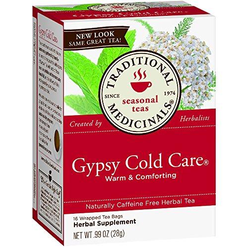 Care Gypsy Cold (Traditional Medicinals Tea Gypsy Cold Care Or)