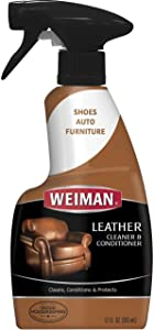 Weiman Leather Cleaner & Conditioner 12oz Trigger (Package May Vary) Pack of 2