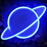 Blue Planet Neon Signs Led Kids Neon Signs Led Neon Wall Light Battery USB Powered Neon Signs Led Light Party Supplies…