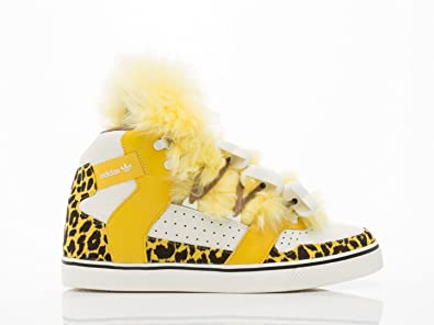 adidas ObyO JS Jeremy Scott Bones Fur Leopard B26024 Gold Mesa Men s Shoes  (UK d477537c5f
