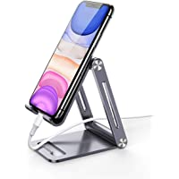 UGREEN Phone Stand Aluminum Cell Phone Desk Holder Adjustable Compatible for iPhone 11 Pro Max SE XS XR 8 Plus 6 7 6S…