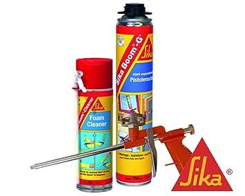 Sika Boom g + Espuma de montaje 750 ml nevera Set 1 x Boom g + Incluye limpiador + COMPACT de espuma Pistola: Amazon.es: Bricolaje y herramientas