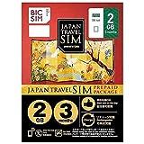 IIJ Nano SIM 「BIC SIM JAPAN TRAVEL SIM/2GB」 Prepaid・Data only・SMS unavailable IM-B189