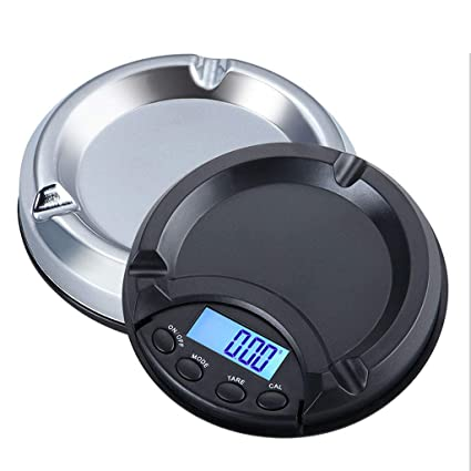9f5e4e271e50 Amazon.com: Portable Electronic Balance 0.01g Ashtray Shape ...