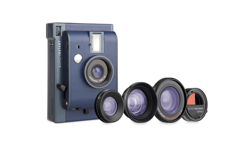 Appareil photo instantané Lomo'Instant San Remo - 3objectifs - Lomography LI800LUX