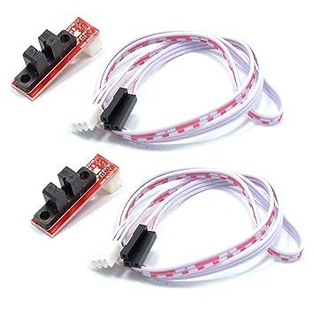 RLECS paquete de 2 interruptores ópticos de límite de control de ...