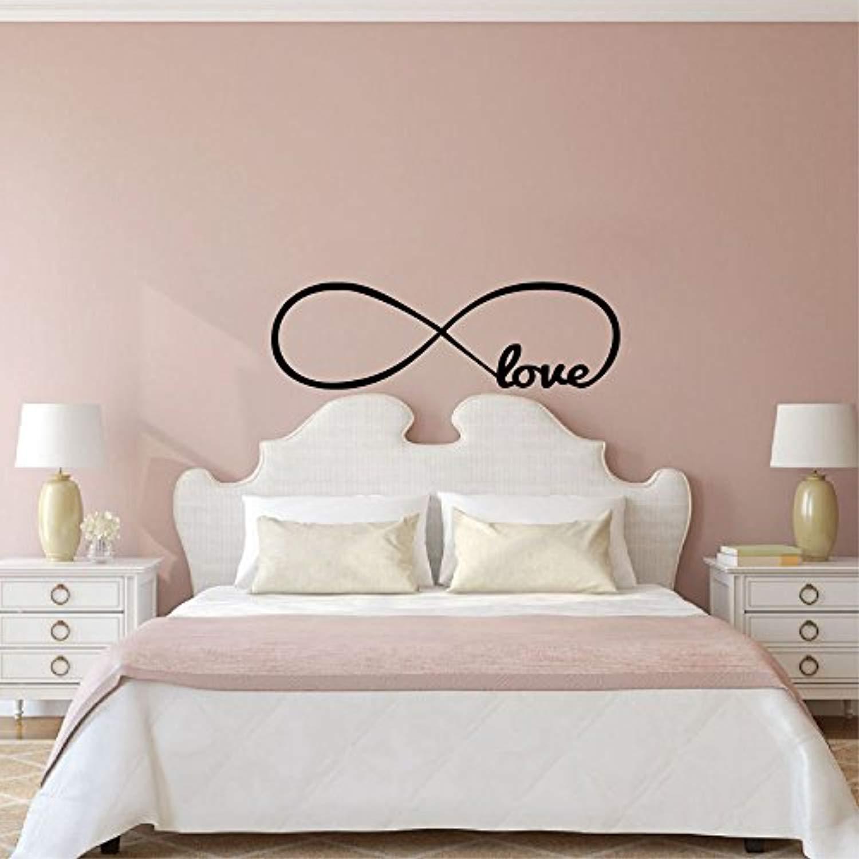 Amazon Com Home Art Quotes Bedroom Personalized Infinity Symbol