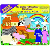 Felt Creations Noah's Ark Felt Story Board