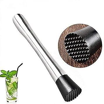 Barra esencial de acero inoxidable para cóctel, palos rotos ...