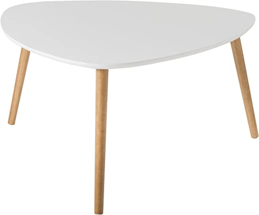 Demeyere Triangle - Mesa de Centro (Tablero DM, 80 x 80 x 40 cm ...