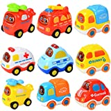 Samidy Randon Color Baby Infant Inertial Toy Car 3 in a Pack for 0-2Years kids