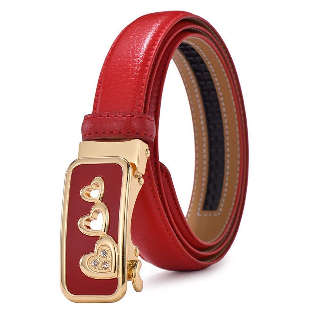 Belt lady fashionable belt automatic buckle leisure decorative belt