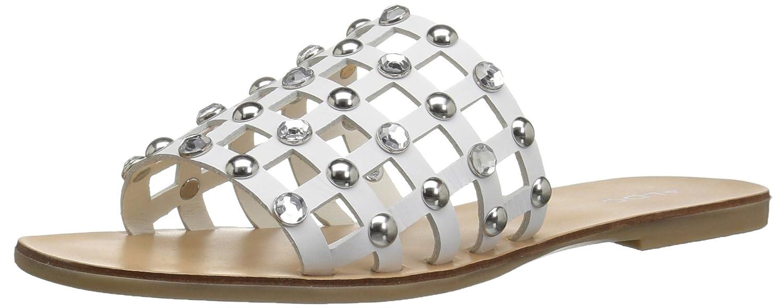 ALDO Women's Unterman Slide Sandal B0791T74CX 6 B(M) US|White
