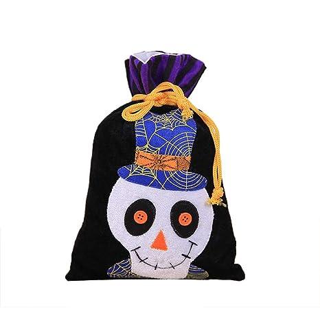 Wicemoon Halloween Bolsas Cartoon Calavera Candy Cordón ...