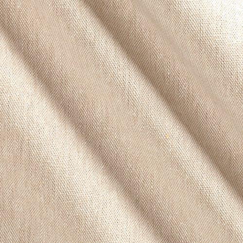 Oyster Linen - Robert Kaufman Essex Yarn Dyed Linen Blend Oyster Fabric by The Yard
