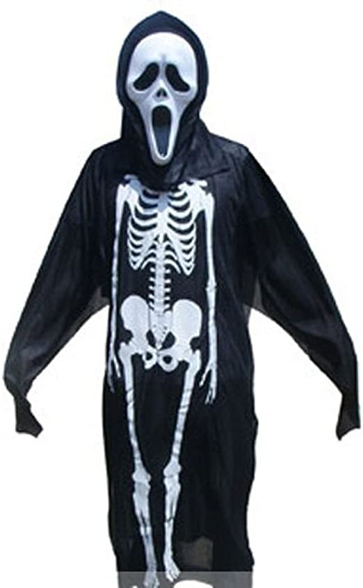 Disfraces De Halloween Hombres Y Mujeres Adultos Esqueleto Fantasmas Horror Demonios Vampiro Ropa Danzantes Niños Accesorios: Amazon.es: Jardín