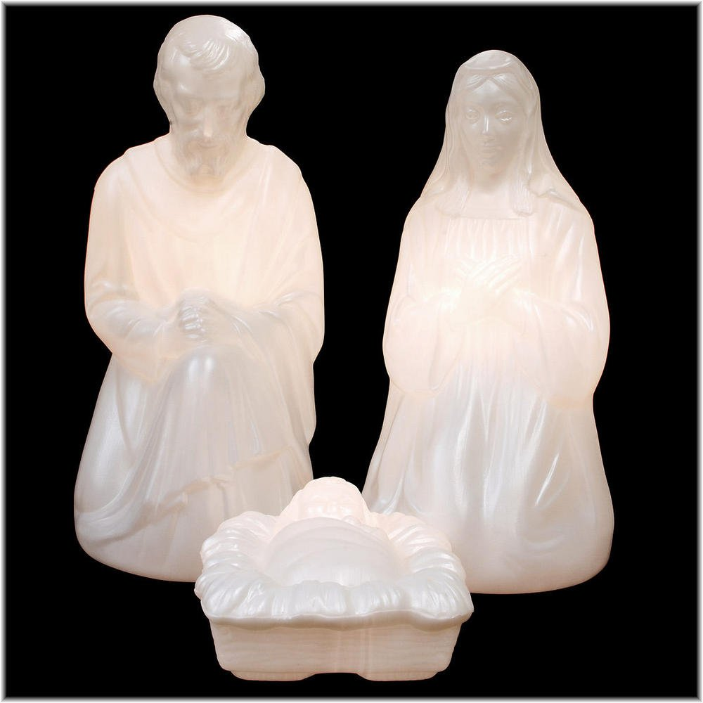 28'' Nativity Set W/ Marble Loo