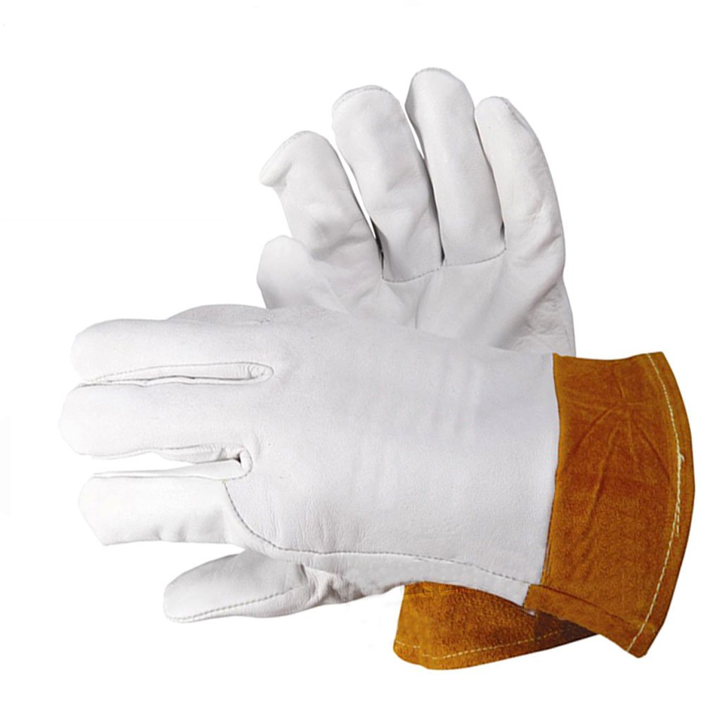 Moolo耐火グローブアルゴンアーク溶接手袋労働保護溶接ジョブ手袋 B07DQRLG16