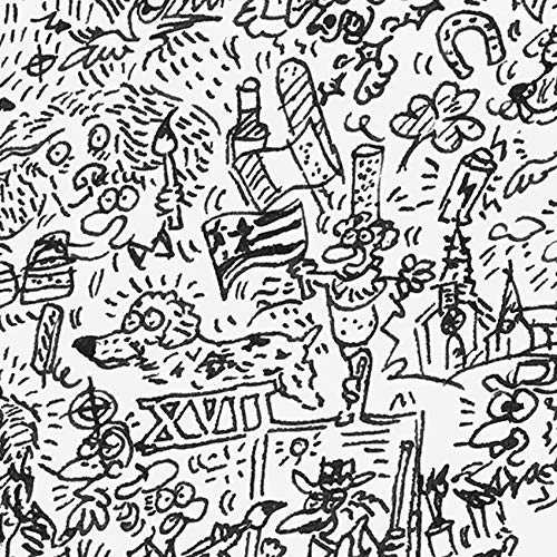 L/'/épagneul breton Dessin du chien illustr/é avec les details de la race.