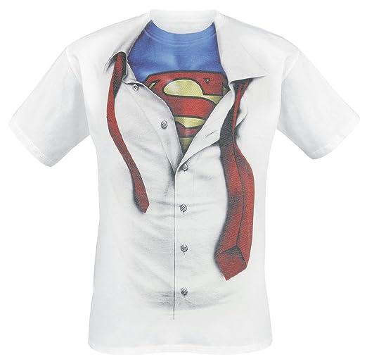 28 opinioni per Superman- T-shirt della DC Comics con licenza ufficiale- Motivo Clark Kent e