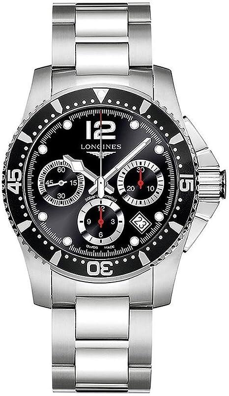 Relógio de luxo Longines HydroConquest, modelo l3.744.4.56.6