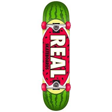 Real Skateboard Complete Team Watermelon Green 7.75