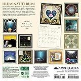 The Illuminated Rumi 2018 Wall Calendar
