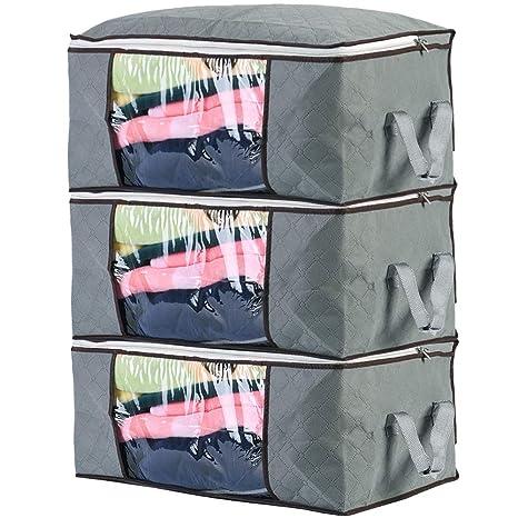 Amazon.com: 3 unidades de mantas de almacenamiento ...