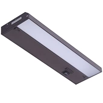 GetInLight 3 Color Levels Dimmable LED Under Cabinet Lighting With ETL  Listed, Warm White (