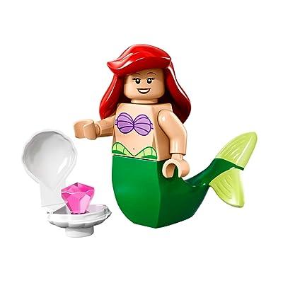 LEGO Disney Series Collectible Minifigure - Ariel Little Mermaid (71012): Toys & Games
