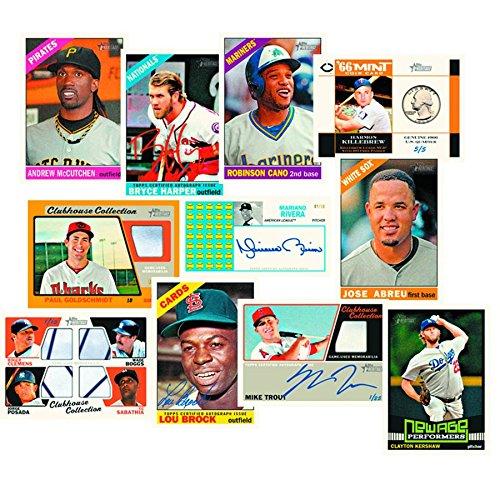 (2015 Topps HERITAGE MLB Baseball HOBBY Trading Cards Box - 24 packs of 9 cards each!)