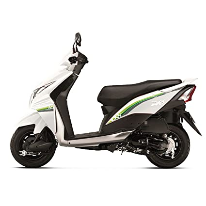 Autographix Glory Graphic Decals for Honda Dio (Set of 4, Green