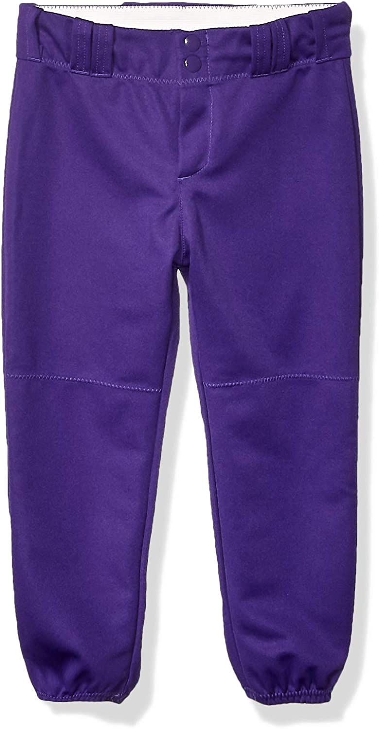 Alleson Athletic 605PBWY Girl/'s Fast pitch Softball Pants with Belt Loops Youth