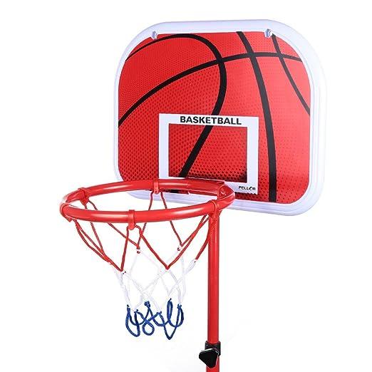 2 opinioni per Pellor Canestro da basket regolabile posteriore con cerchio & per bambini
