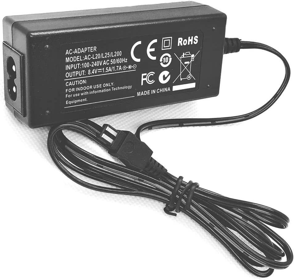AC Power Adapter Charger for Sony DCR-DVD602E DCR-DVD610E Handycam Camcorder DCR-DVD608E DCR-DVD605E