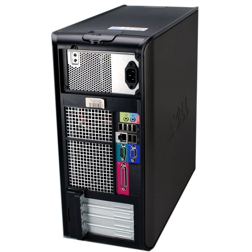 "Business Tower: Dell Optiplex 755 Tower Pc Bundle - AMAZING Intel Core 2 Duo @ 3.0ghz - NEW 1TB Hard Drive w/ 2 Year Warranty- LOADED w/ 8GB RAM - Windows 7 Professional 64-bit - WIFI Installed - DvD-ROM (From ReCircuit) +NEW Dell 24"" Monitor"