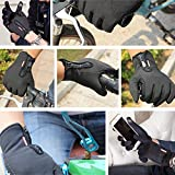 YYGIFT Touch Screen Gloves Outdoor Sports Winter