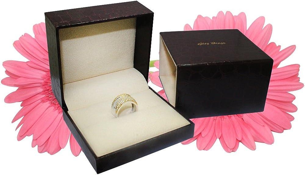Diamond Wedding Ring Set for Women Bridal Sets 14K Gold 1.10 ctw Cathedral Style J,I1