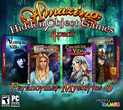 Avanquest Amazing Hidden Object Paranormal Mysteries 6 Game