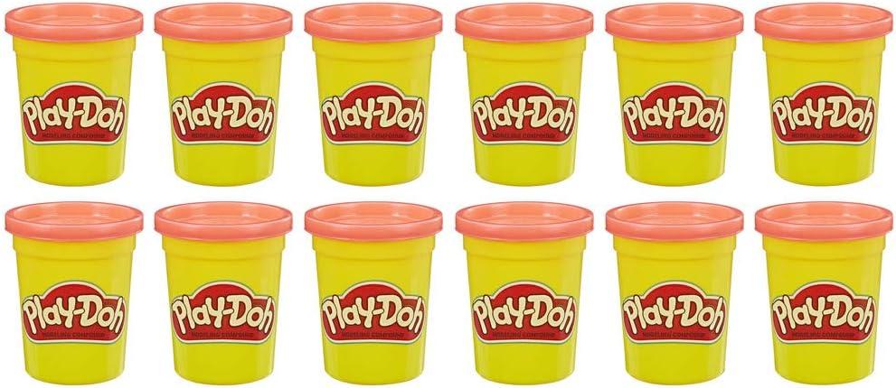Play-Doh - Pack 12 Botes Amarillo (Hasbro E4829F02): Amazon.es ...