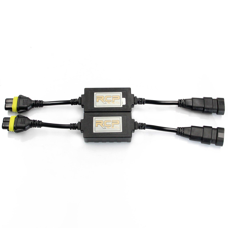 RCP CAS-H4US LED Decoder Anti-Flicker Error Canceller Relay EMC Headlight Kit CANBUS Resistor Adapter