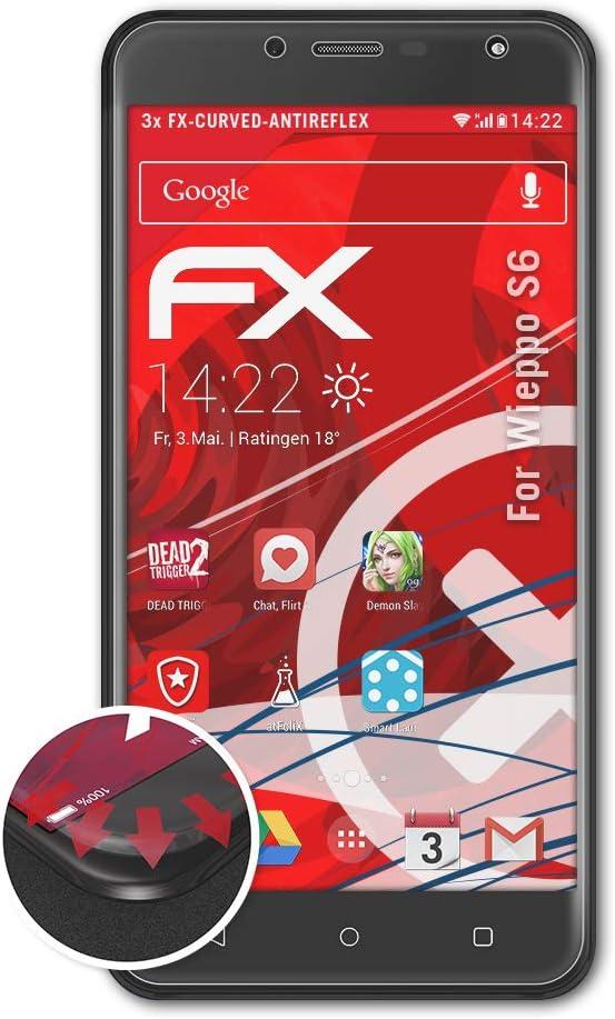 atFoliX Anti-Choque Lámina Protectora de Pantalla para Wieppo S6 ...